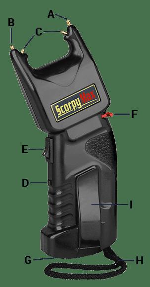 scorpy max pistola electrica